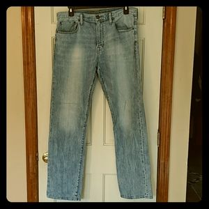 AE relaxed straight jeans 36x36